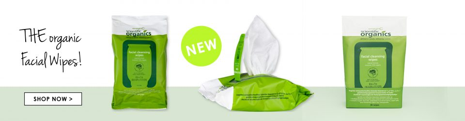 THE Organic Facial Cleansing Wipes!